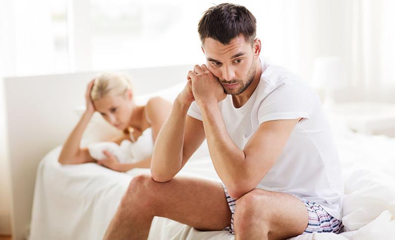 nincs erekció a stressz miatt