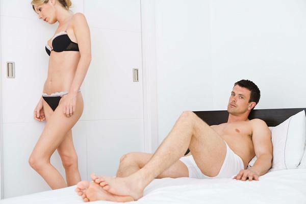 a férfiak erekciója az erekció során